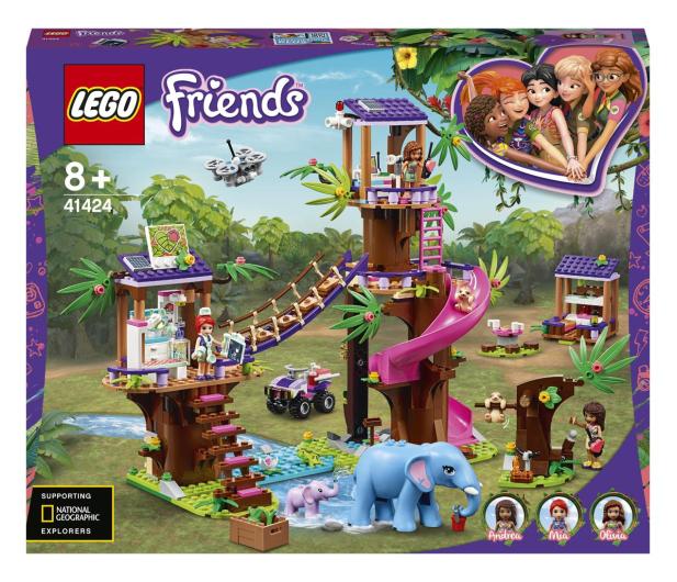 LEGO Friends 41424 Baza ratownicza - 561799 - zdjęcie