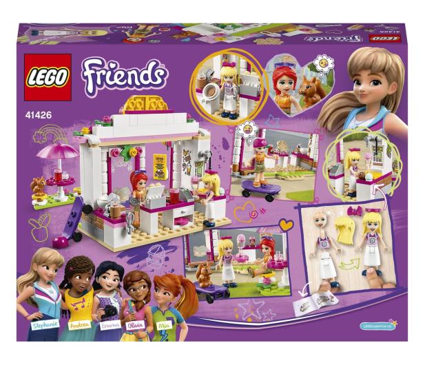 LEGO Friends 41426 Parkowa kawiarnia w Heartlake City - 561821 - zdjęcie 7
