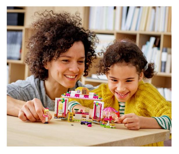 LEGO Friends 41426 Parkowa kawiarnia w Heartlake City - 561821 - zdjęcie 3