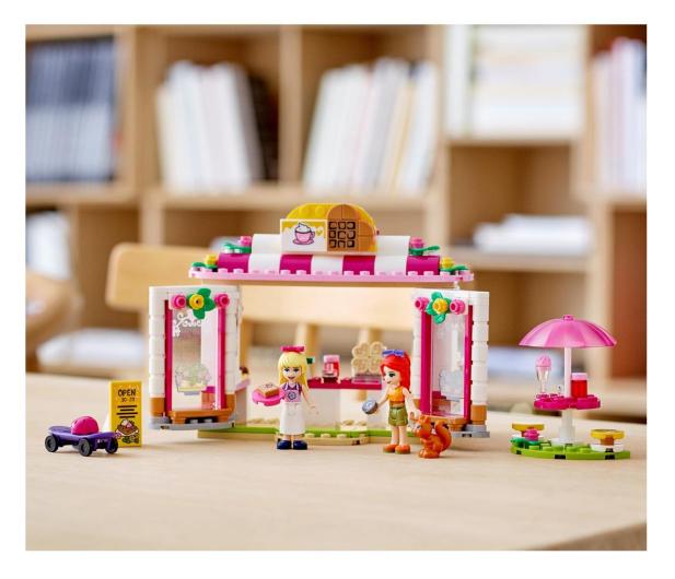 LEGO Friends 41426 Parkowa kawiarnia w Heartlake City - 561821 - zdjęcie 4