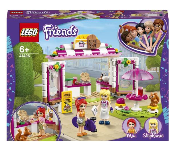 LEGO Friends 41426 Parkowa kawiarnia w Heartlake City - 561821 - zdjęcie