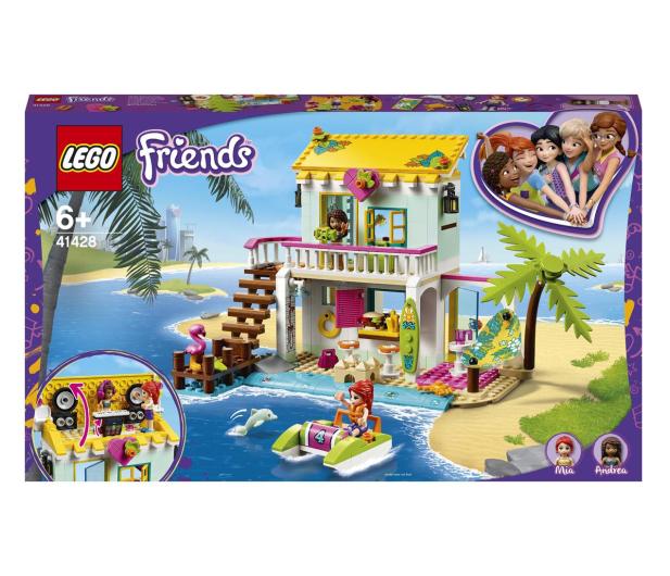 LEGO Friends 41428 Domek na plaży - 561836 - zdjęcie
