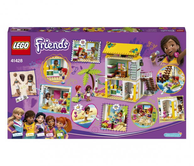 LEGO Friends 41428 Domek na plaży - 561836 - zdjęcie 7