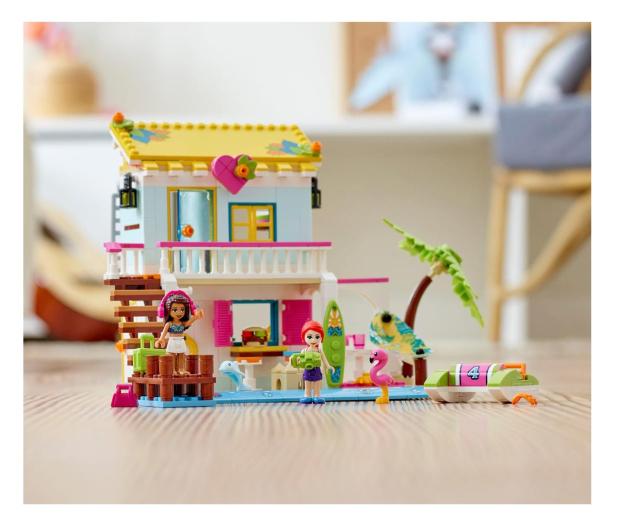 LEGO Friends 41428 Domek na plaży - 561836 - zdjęcie 4