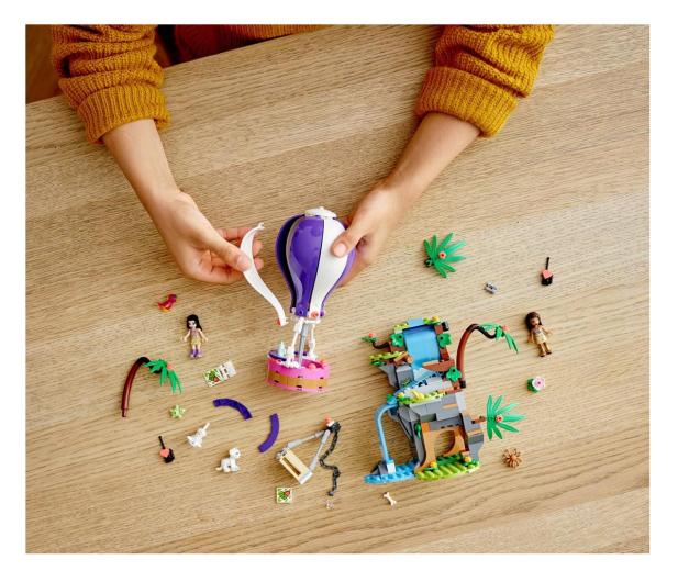 LEGO Friends 41423 Balonem na ratunek tygrysowi - 561789 - zdjęcie 2