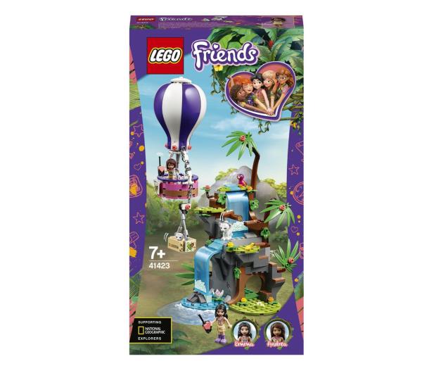 LEGO Friends 41423 Balonem na ratunek tygrysowi - 561789 - zdjęcie