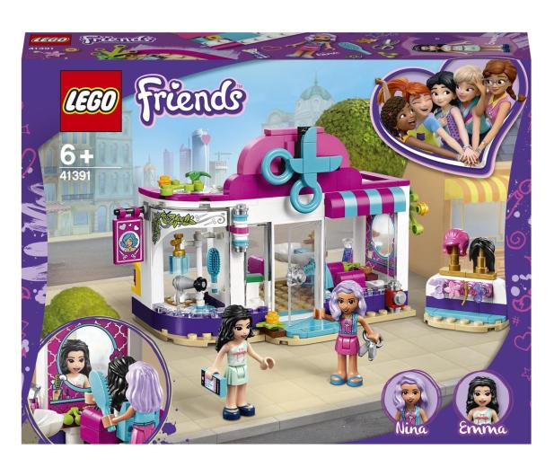 LEGO Friends 41391 Salon fryzjerski w Heartlake - 532659 - zdjęcie
