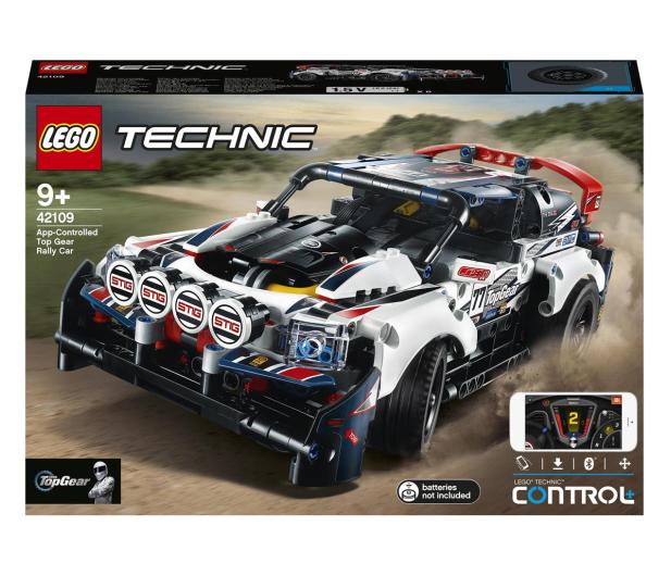 LEGO Technic 42109 Auto wyścigowe Top Gear - 532359 - zdjęcie