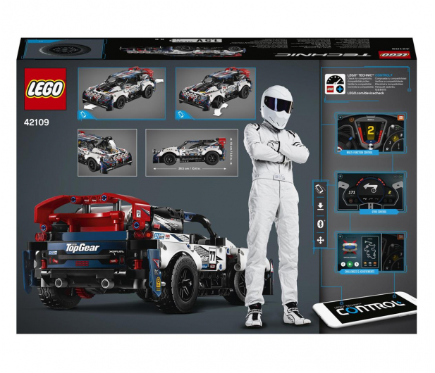 LEGO Technic 42109 Auto wyścigowe Top Gear - 532359 - zdjęcie 7
