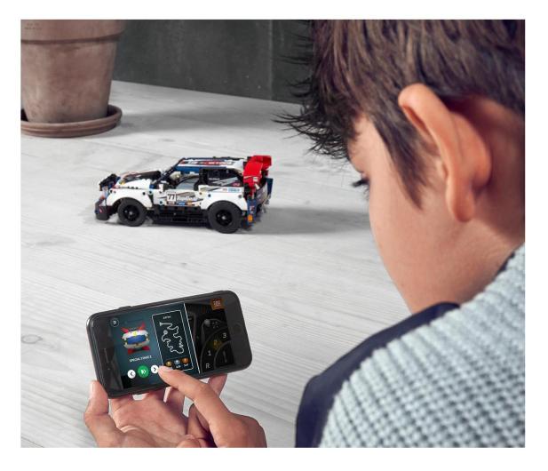 LEGO Technic 42109 Auto wyścigowe Top Gear - 532359 - zdjęcie 2