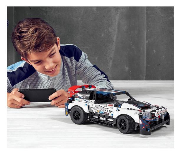 LEGO Technic 42109 Auto wyścigowe Top Gear - 532359 - zdjęcie 3