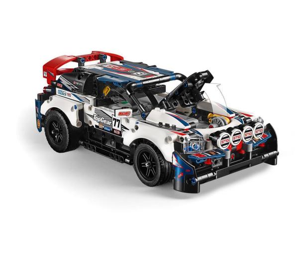 LEGO Technic 42109 Auto wyścigowe Top Gear - 532359 - zdjęcie 5