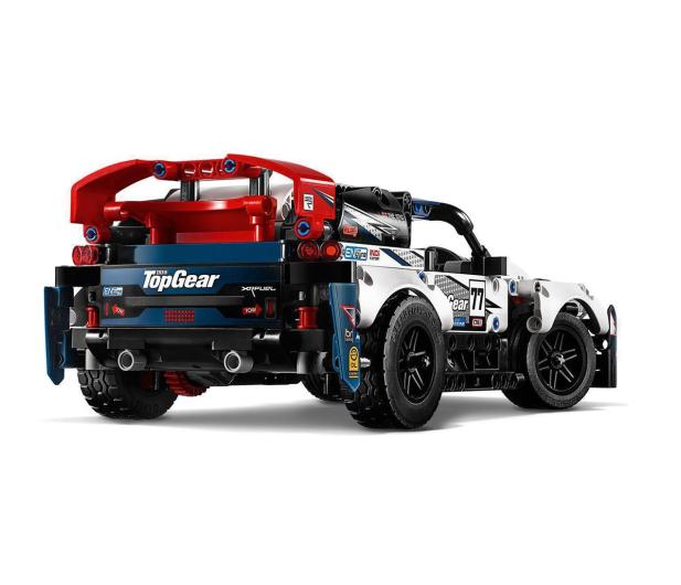 LEGO Technic 42109 Auto wyścigowe Top Gear - 532359 - zdjęcie 6