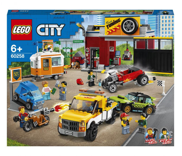 LEGO City 60258 Warsztat tuningowy - 532610 - zdjęcie