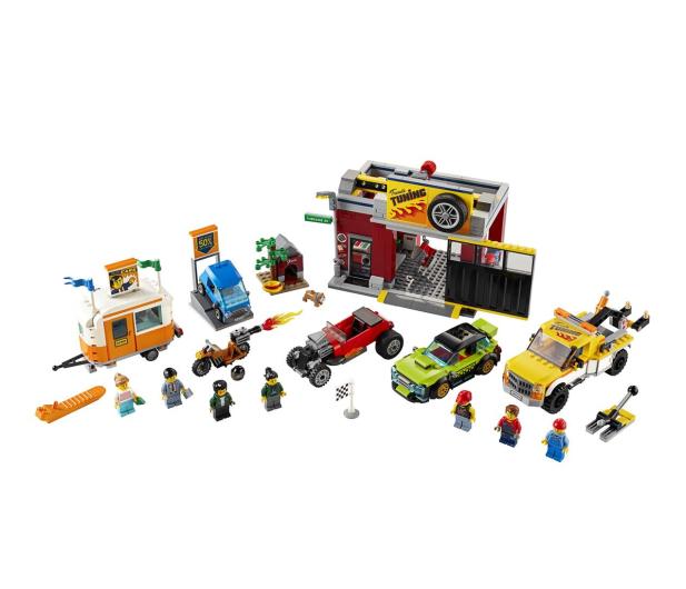 LEGO City 60258 Warsztat tuningowy - 532610 - zdjęcie 6