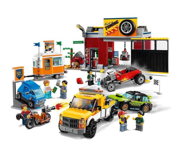 LEGO City 60258 Warsztat tuningowy - 532610 - zdjęcie 5