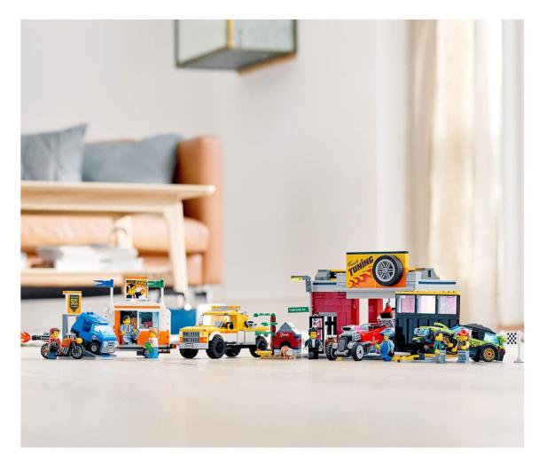 LEGO City 60258 Warsztat tuningowy - 532610 - zdjęcie 3