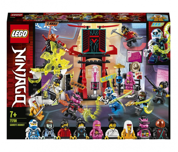 LEGO NINJAGO 71708 Sklep dla graczy - 532373 - zdjęcie