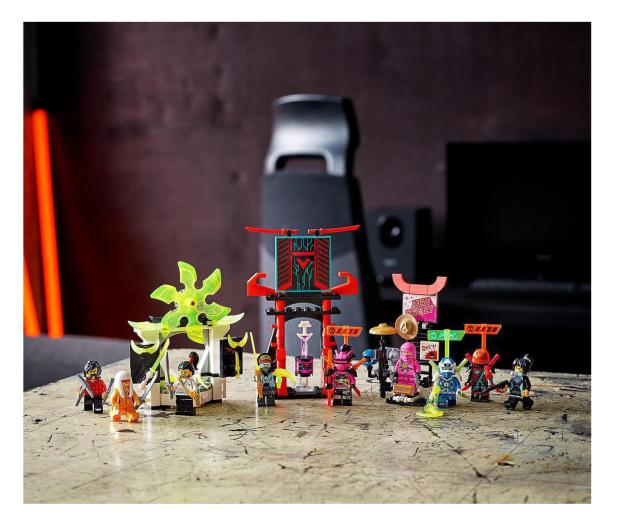 LEGO NINJAGO 71708 Sklep dla graczy - 532373 - zdjęcie 2