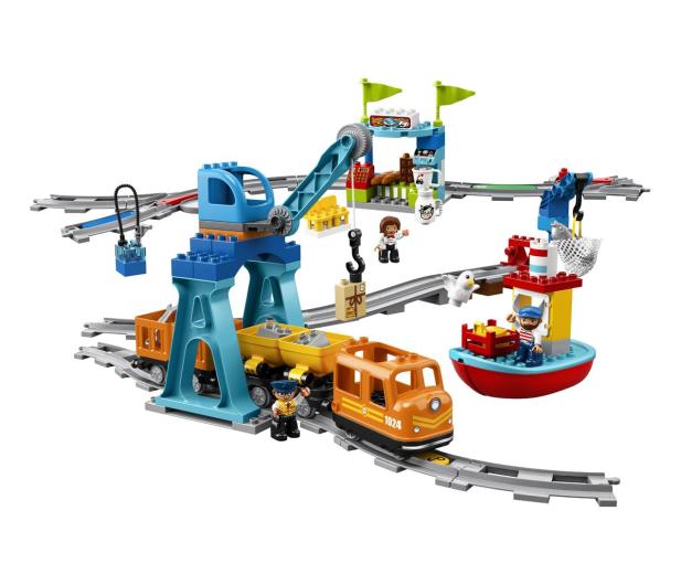 LEGO DUPLO 10875 Pociąg towarowy - 432468 - zdjęcie 5