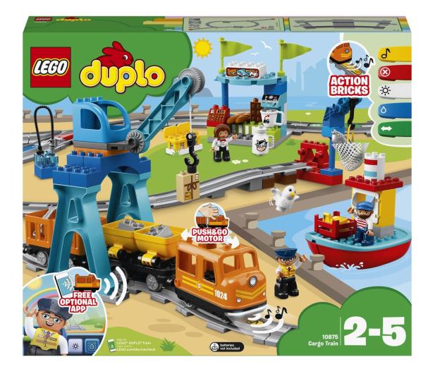LEGO DUPLO 10875 Pociąg towarowy - 432468 - zdjęcie