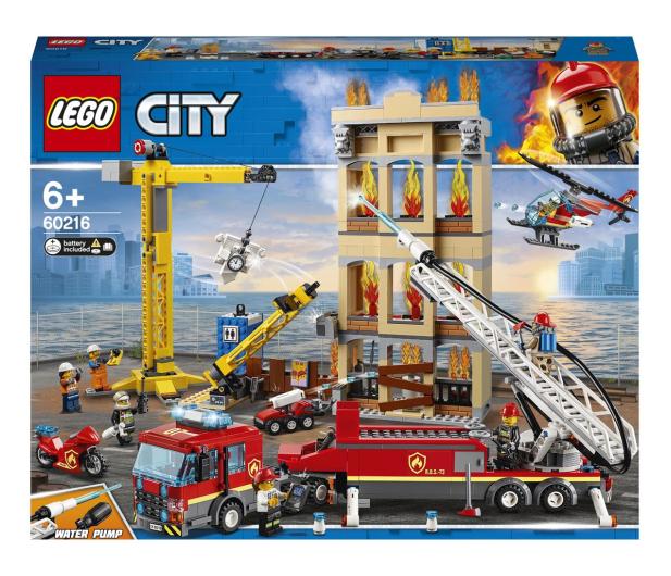 LEGO City 60216 Straż pożarna w śródmieściu - 465090 - zdjęcie