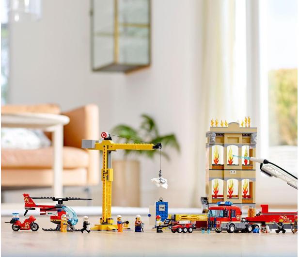 LEGO City 60216 Straż pożarna w śródmieściu - 465090 - zdjęcie 3