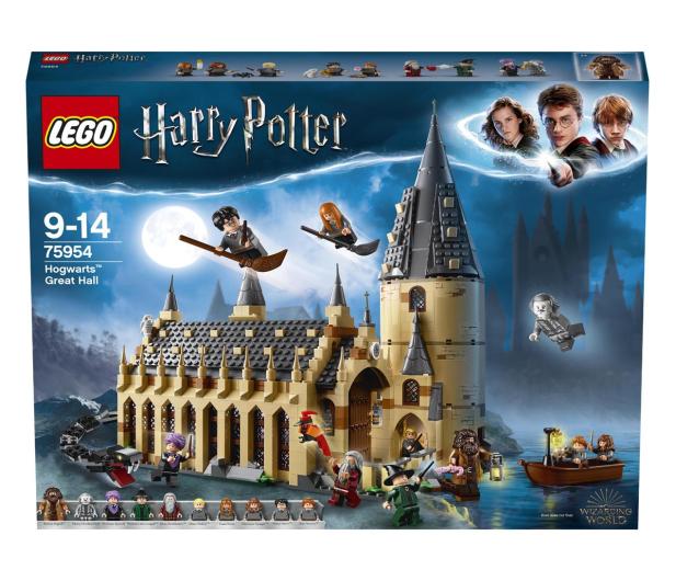 LEGO Harry Potter 75954 Wielka Sala w Hogwarcie - 437000 - zdjęcie