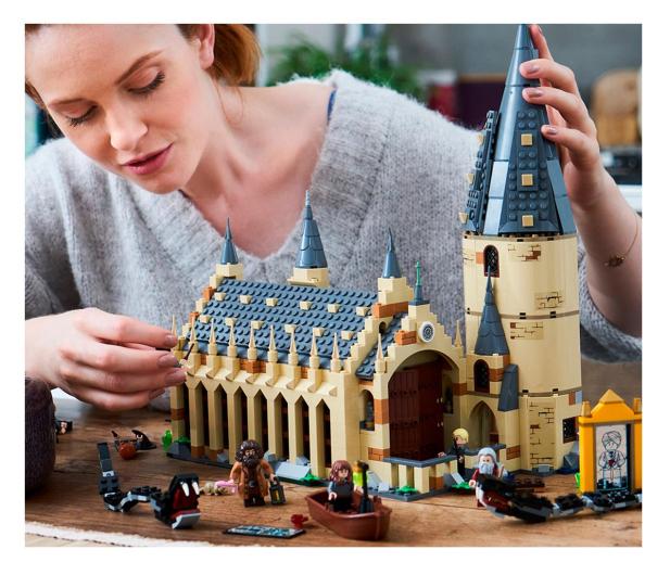 LEGO Harry Potter 75954 Wielka Sala w Hogwarcie - 437000 - zdjęcie 4