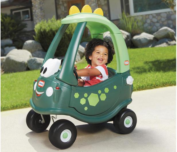 Little Tikes Go Green Cozy Coupe Dino - 1021966 - zdjęcie 4