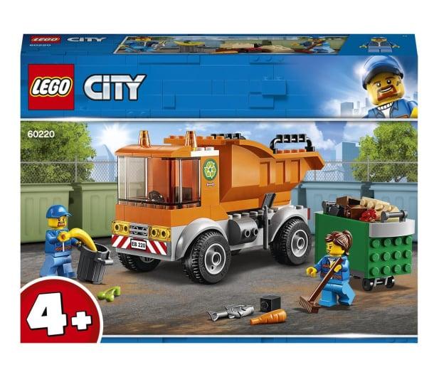 LEGO City 60220 Śmieciarka - 465095 - zdjęcie