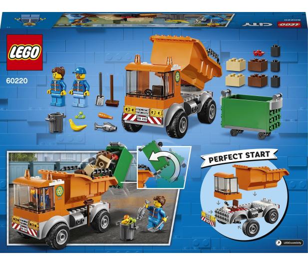 LEGO City 60220 Śmieciarka - 465095 - zdjęcie 11