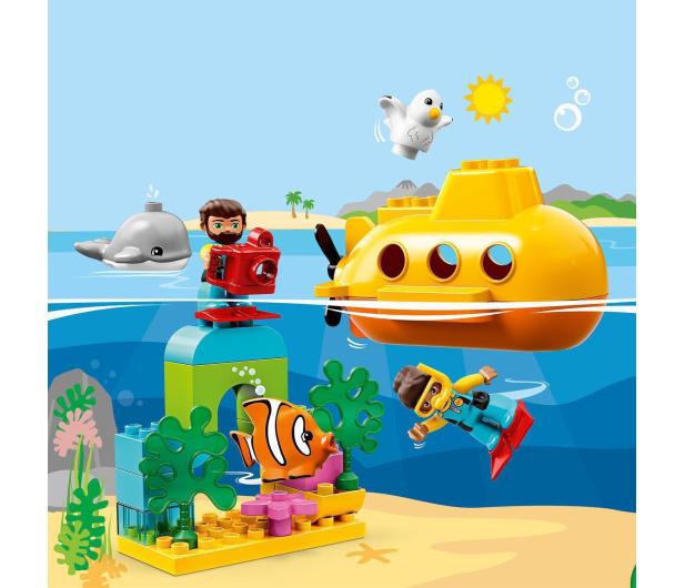 LEGO DUPLO 10910 Przygoda w łodzi podwodnej - 496094 - zdjęcie 4