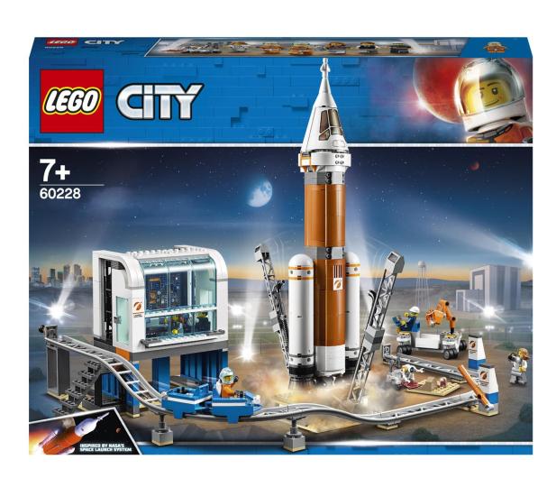 LEGO City 60228 Centrum lotów kosmicznych - 496173 - zdjęcie
