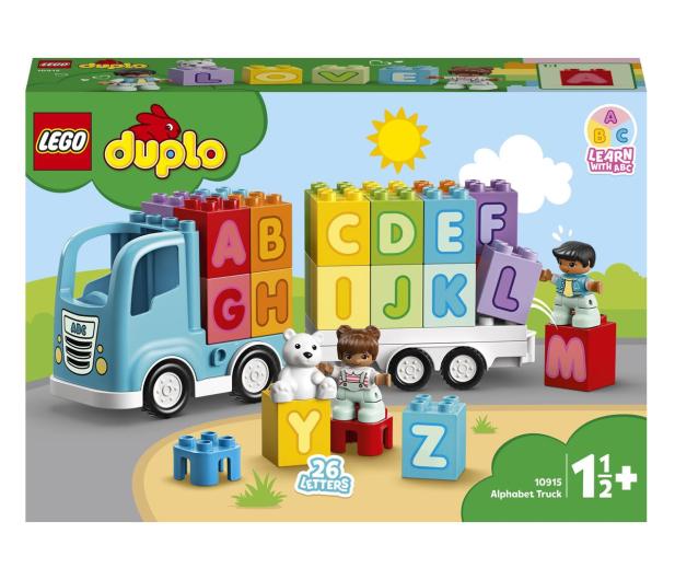 LEGO DUPLO 10915 Ciężarówka z alfabetem - 532306 - zdjęcie