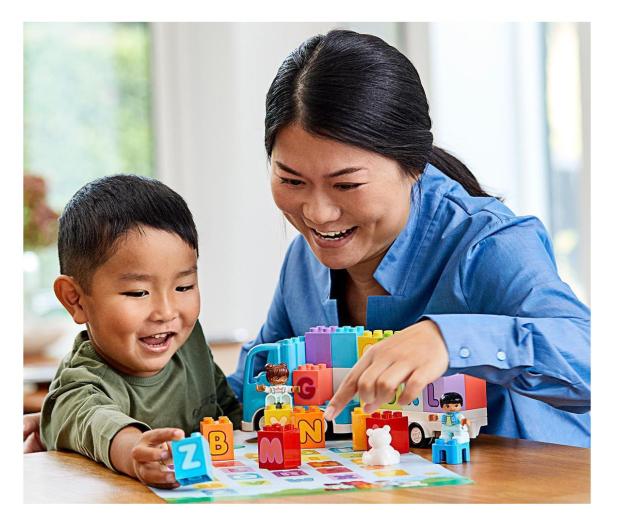 LEGO DUPLO 10915 Ciężarówka z alfabetem - 532306 - zdjęcie 3
