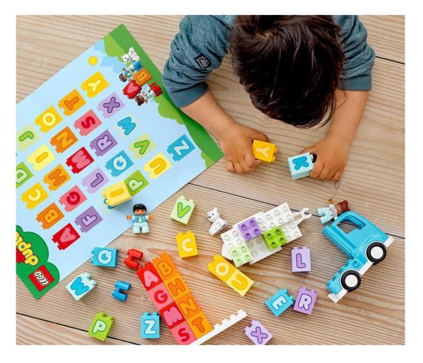 LEGO DUPLO 10915 Ciężarówka z alfabetem - 532306 - zdjęcie 2