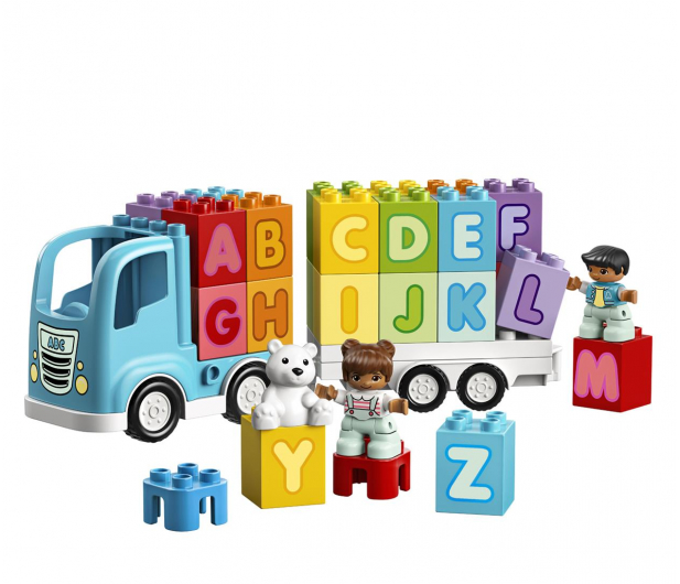 LEGO DUPLO 10915 Ciężarówka z alfabetem - 532306 - zdjęcie 5