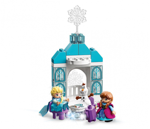 LEGO DUPLO 10899 Zamek z Krainy lodu - 505526 - zdjęcie 4