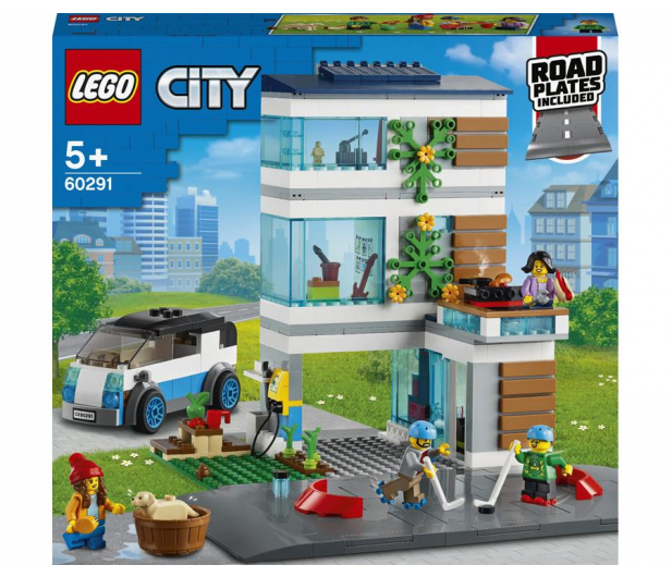 LEGO City 60291 Dom rodzinny - 1012988 - zdjęcie