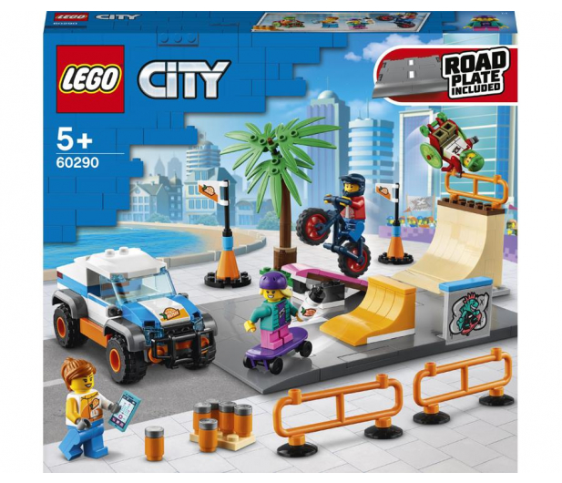 LEGO City 60290 Skatepark - 1012989 - zdjęcie