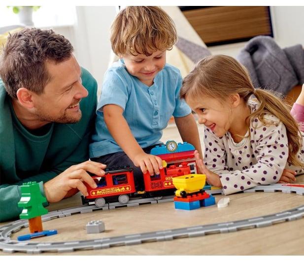LEGO DUPLO 10874 Pociąg parowy - 432466 - zdjęcie 2
