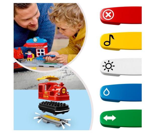 LEGO DUPLO 10874 Pociąg parowy - 432466 - zdjęcie 5