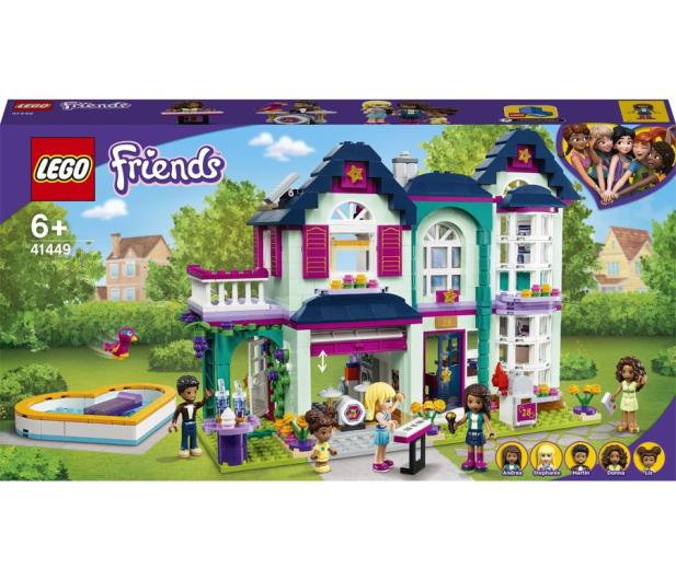 LEGO Friends 41449 Dom rodzinny Andrei - 1012746 - zdjęcie