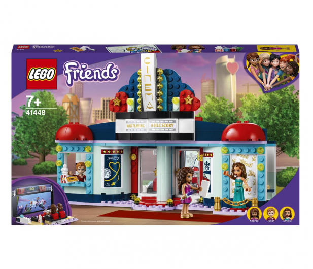 LEGO Friends 41448 Kino w Heartlake City - 1012745 - zdjęcie