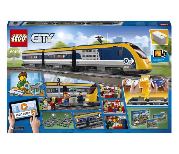 LEGO City 60197 Pociąg pasażerski - 436999 - zdjęcie 8