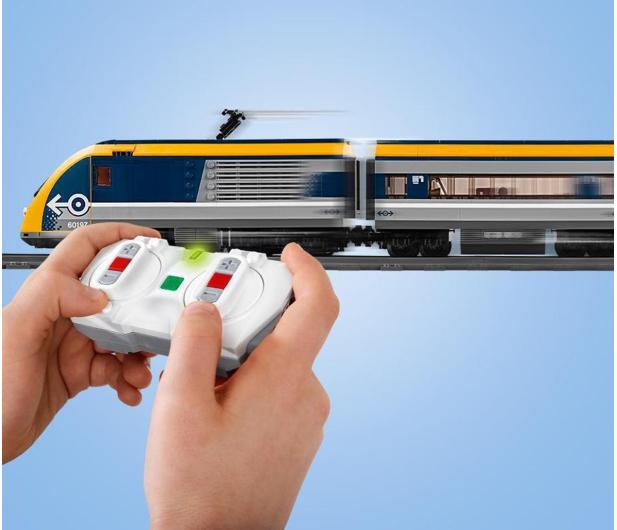 LEGO City 60197 Pociąg pasażerski - 436999 - zdjęcie 5