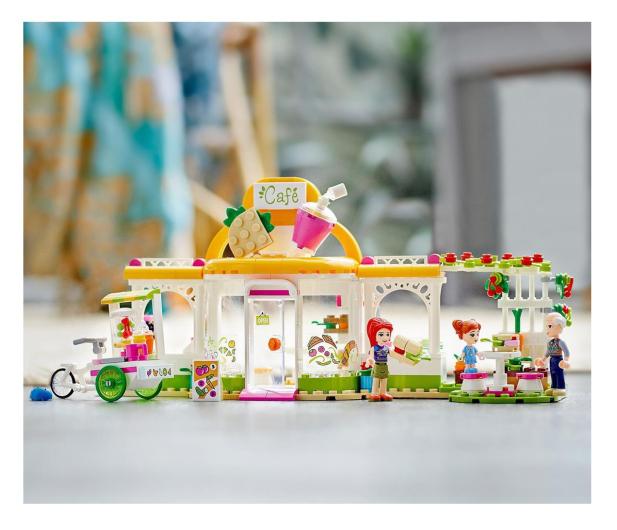 LEGO Friends 41444 Ekologiczna kawiarnia w Heartlake  - 1012743 - zdjęcie 4