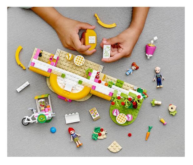 LEGO Friends 41444 Ekologiczna kawiarnia w Heartlake  - 1012743 - zdjęcie 2