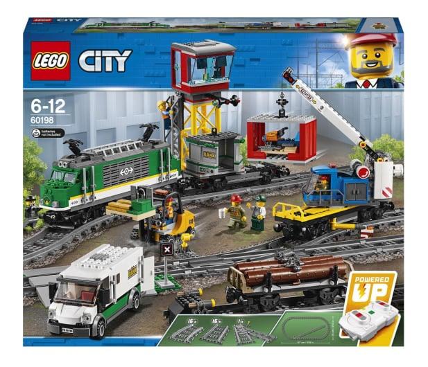 LEGO City 60198 Pociąg towarowy - 436998 - zdjęcie